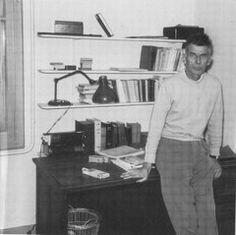 Francesca Woodman, Dartmouth College, Nobel Prize In Literature, Room Of One's Own, Samuel Beckett, Writers And Poets, Writing Desk, Work Spaces, Twitter