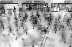 "Honorable Mention, Places. ""Tokyo - Shinagawa Station"": The 2014 National Geographic Photo Contest"