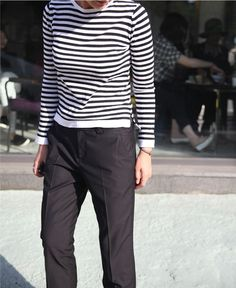 Stripes | chinos