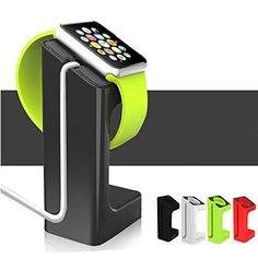 Apple Watch Stand - High Quality - Splendour-Life Apple Watch Charging Stand Station Dock Platform for 38/42mm Sport Edition All Models (Black) Splendour-Life http://www.amazon.com/dp/B0140MUNCI/ref=cm_sw_r_pi_dp_toR3vb15128RC