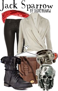 """Jack Sparrow"" by lalakay ❤ liked on Polyvore"