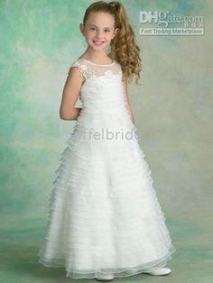 fl1329 junior bridesmaid dresses/flower girl dresses/girl's dress/bridesmaid dress/kid's dress