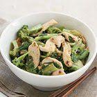 Thaise kip en broccoli van Annabel Langbein