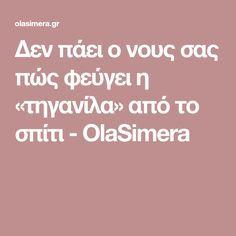 Δεν πάει ο νους σας πώς φεύγει η «τηγανίλα» από το σπίτι - OlaSimera