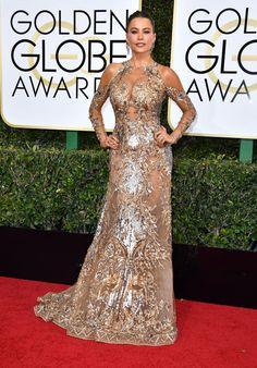Sofia Vergara aux Golden Globes 2017