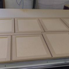#mdf profiled cabinet doors ready for sanding and Paint. #cncrouter #cnc #axyz #woodworking #woodworkersofinstagram #woodworker #ibuiltthis #makingsawdust #yycliving #yycdesigns #yyc #calgary #calgarywoodworking #calgarywoodworkers #hardworker #entrepreneur #yycsmallbusiness #yycwoodworker #yycwoodworking #sign #signs #cncsigns #yycsigns #cabinet #carpentry by cornelsworld