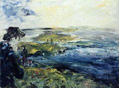 thunderstruck9:  Jack Butler Yeats (Irish, 1871-1957), Many Ferries, 1948. Oil on canvas, 51 x 69 cm.