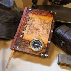 Compass (Small) His Dark Materials, Fantasy World, Pick Up, Compass, Book Art, 3 D, Steampunk, Plywood, Size 16