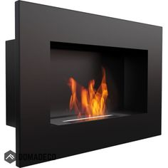 Semineu Bio DELTA Negru - 60 x 40 cm, Foc adevarat fara fum si fara miros, Nu necesita cos de fum sau curent - eMAG. Wall Mounted Fireplace, Build A Fireplace, Wall Mount Electric Fireplace, Modern Fireplace, Fireplace Design, Dallas, Fireplaces For Sale, Ethanol Fuel, Bioethanol Fireplace