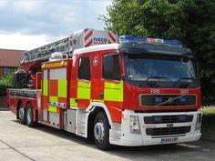 Volvo Ariel Platform, Bucks Fire & Rescue Service
