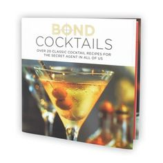 Bond Cocktails Book 5483X Bond Cocktails Book - Shaken or Stirred?Its time to raise a glass to the worlds most-loved, smooth talking secret agents with one of his favourite drinksIf they™ve seen them all, from Dr No to Skyfall http://www.MightGet.com/january-2017-13/unbranded-bond-cocktails-book-5483x.asp