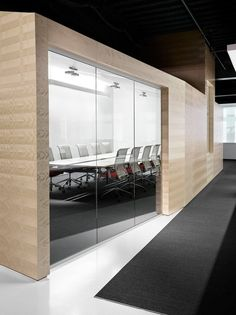 Studio park has the same conference room design with the transparent glass door…