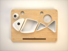Sushi to Go Fast Food Plates by Vinnie Longo