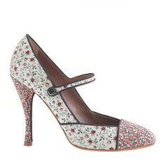 ShopStyle.com: Tabitha Simmons® for J.Crew Folly Rose high-heel Mary Janes $378.00
