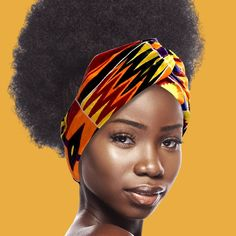 Head Wrap Headband, Knot Headband, Headbands, African Models, Natural Hairstyles, Head Wraps, Looking For Women, African Fashion, Printing On Fabric