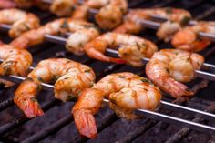 grilled shrimp To say this marinade is fantastic is an under statement --- the amounts listed enough for up to 4 pounds of shrimp and this also works well with lobster tails too --- if Best Salmon Marinade, Grilled Shrimp Marinade, Lime Marinade For Chicken, Grilled Shrimp Recipes, Fish And Chicken, Grilled Meat, Chicken Marinades, Pork Tenderloin Marinade, Marinade Steak