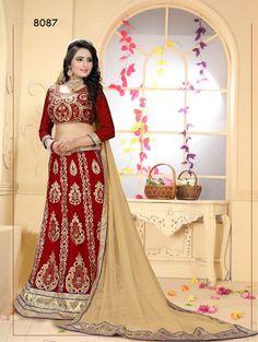 Traditional Lehenga Choli Bridal wear Pakistani Indian Wedding Bollywood Ethnic #TanishiFashion