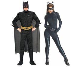 The Dark Knight Rises Batman & Catwoman Adult Couples Costume // Halloween Inspiration 2016
