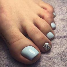 35 summer toe nail design ideas for exceptional look 2019 27 Gel Toe Nails, Feet Nails, Toe Nail Art, My Nails, Hair And Nails, Gel Toes, Pretty Toe Nails, Cute Toe Nails, Colorful Nail Designs