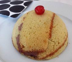 Zuccotto gluten free con mascarpone e Nutella - zuccotto, gluten free, senza glutine, mascarpone, Nutella, dolce