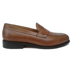 Berwick 1707 zapato mocasín color cuero