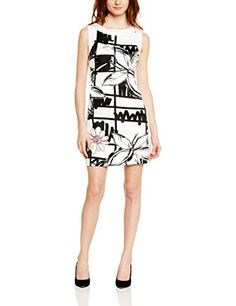 Desigual Women's Vest_Palam Empire Sleeveless Dress, White (Blanco), UK 16 (Manufacturer Size:44) Desigual http://www.amazon.co.uk/dp/B00OQ3EGXO/ref=cm_sw_r_pi_dp_hs9Jwb0QFN1Q4
