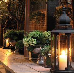 new deck inspiration for evening parties!