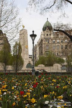 Liberty Square, Budapest, Hungary