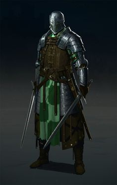 ArtStation - Medieval champion, Evgeniy Petlya