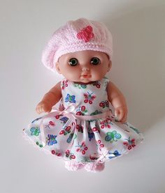 "Handmade Baby Dolls Clothes for 8.5"" Lil' Cutesie BERENGUER doll PI"