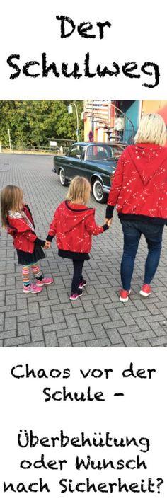 Ist es wirklich nötig, das Kind mit dem Auto zur Schule zu fahren? Und warum nehmen so wenig Eltern Rücksicht auf andere Kinder? #mamablog #schule #schulkind #einschulung