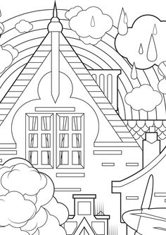 The 11 best weird coloring pages images on Pinterest | Coloring ...
