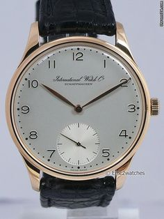 Iwc Portuguese Jubilee Limited Edition Watch