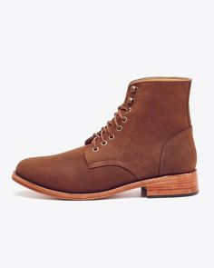 Meet the Lockwood, our best boot ever. Inspired by the original American trench boot, we've created our own classic version with timeless style for the modern man. The Lockwood's masculine and well-engineered shape provides you with style, durability, and comfort for everyday wear.