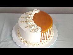 Cake Decorating Frosting, Cake Decorating Designs, Creative Cake Decorating, Birthday Cake Decorating, Cake Decorating For Beginners, Cake Decorating Videos, Cake Decorating Techniques, Cake Frosting Designs, Cake Icing