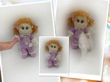"Häkelanleitung Puppe "" Engel"""