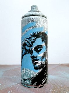 Custom Spraycan Graffiti Can by @graffmatt #art #graffiti #graffitiart #spray #spraycan #spraypaint #illustration #painting #drawing #custom #bombing #streetart #design #object #deco #original #urbanart #graffmatt #artforsale #buyart #posca #mtn #montana