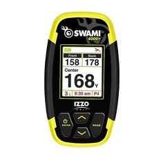 Izzo Golf Swami 4000 Plus Golf GPS, Black