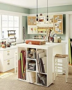 I can't wait until I live somewhere where I can have a craft room!