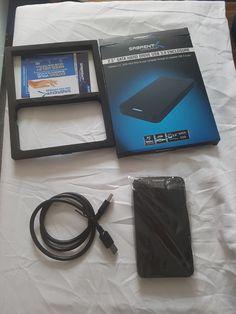 2.5-Zoll SATA auf USB 3.0 externes Festplattengehäuse [Optimiert für SSD, Unterstützt UASP SATA III] von Sabrent im Test Usb, Charger, Tech, Hard Disk Drive, Black, Technology