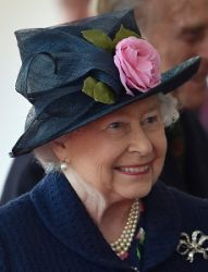 Queen Elizabeth, October 21, 2014 in Angela Kelly | Royal Hats