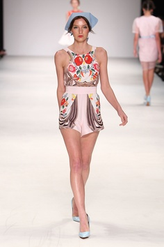 Hungarian embroidery - Fashion Week 2012 | Alice McCALL