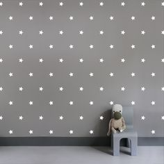 Interieurstickers Sterretjes van Studio Haikje Interior sticker Stars from Studio Haikje #Wallstickers #Sticker #Decorating