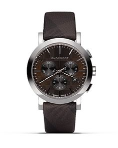 Burberry Chocolate Brown Watch
