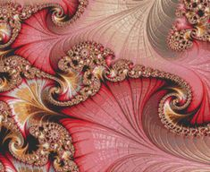 Counted Cross Stitch Pattern Fractal No 160 by StitchXCrossStitch