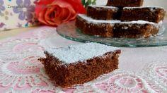 Quadrotti cioccolatosi senza glutine , golosi e facilissimi da preparare. Perfetti da servire in ogni momento della giornata.