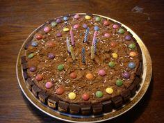 Chocolate and chocolate and chocolate :)) cake for my cousin
