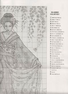 JE 027_Blue Geisha_3/5