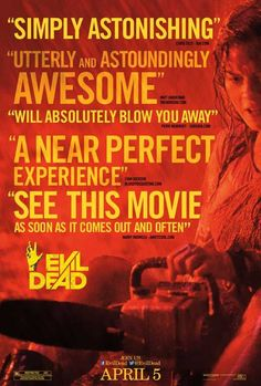 Evil Dead 11x17 Movie Poster (2013)