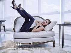 Check out Asia's Next Top Model's photoshoot at the Christopher Guy Penthouse in Singapore. CG featured on the Cycle Episode 8 of the show. Asia's Next Top Model, Christopher Guy, Singapore, Couch, Photoshoot, Chair, Furniture, Home Decor, Fashion